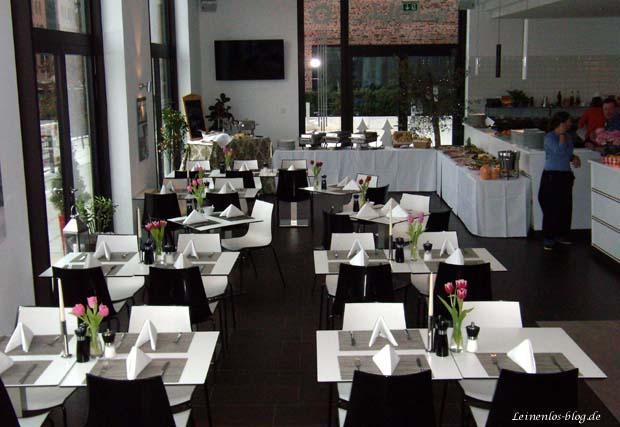 Rudolph's Restaurant Innenraum, Hamburg HafenCity
