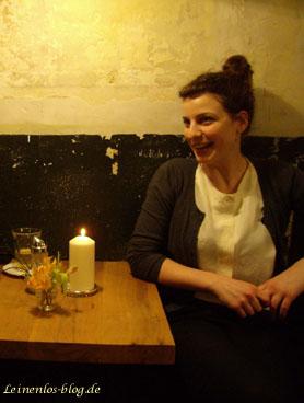 Anne-Kareen Kreß, Existenzgründerin in der Gastronomie