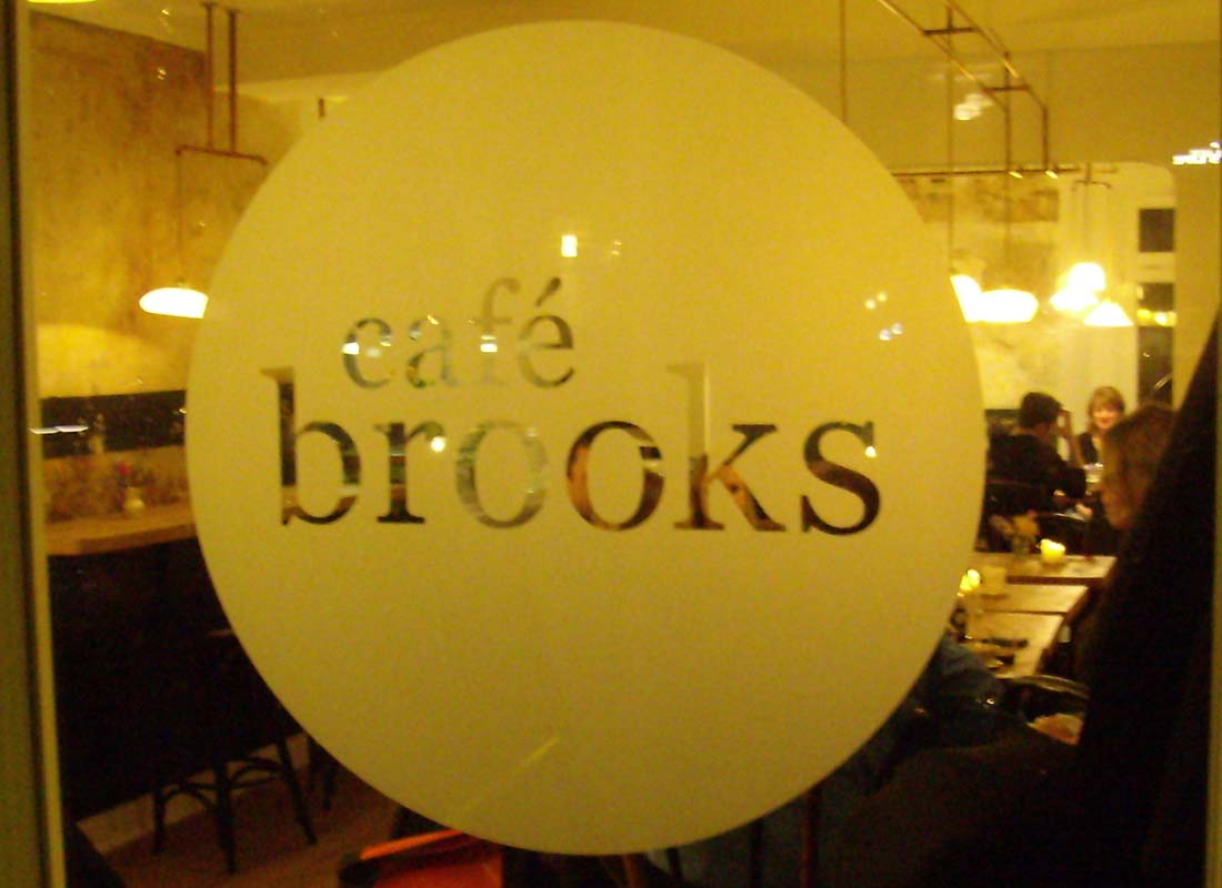 Logo Cafe Brooks Hamburg