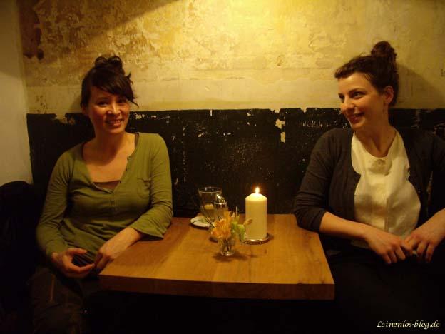 Rebekka Wang und Anne-Kareen Kreß, Gründerinnen des Café Brooks
