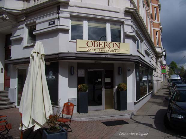 Oberon Restaurant, schlafend in der  Aprilsonne 2013