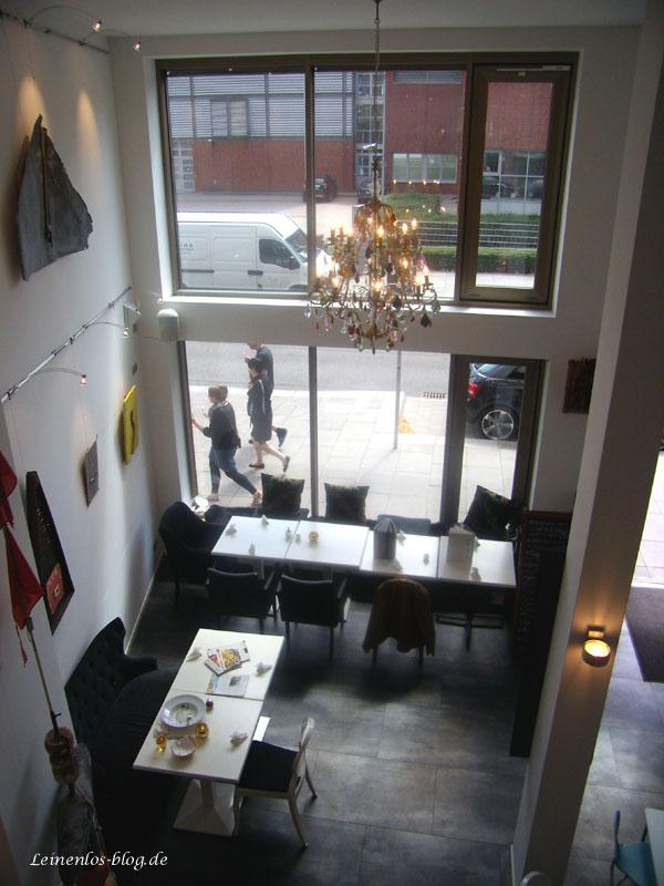 Nissis Kunstkantine, Ausstellungsraum