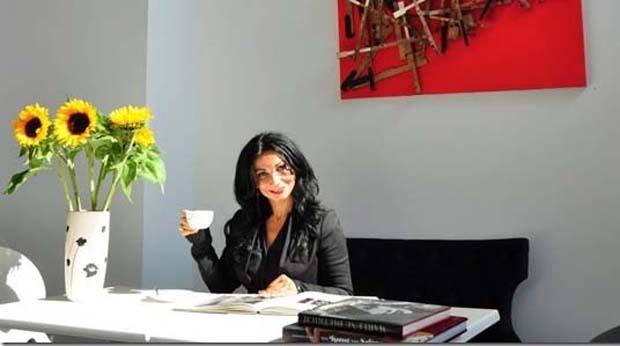 Nissi Roloff in ihrer Kunstkantine