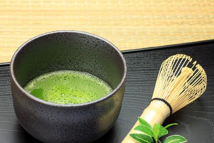 Trend-Getränk  Matcha-Tee