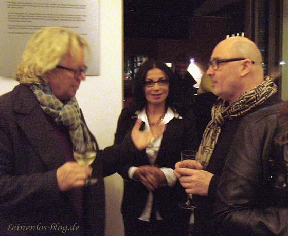 Fotograf Jürgen Müller (rechts)