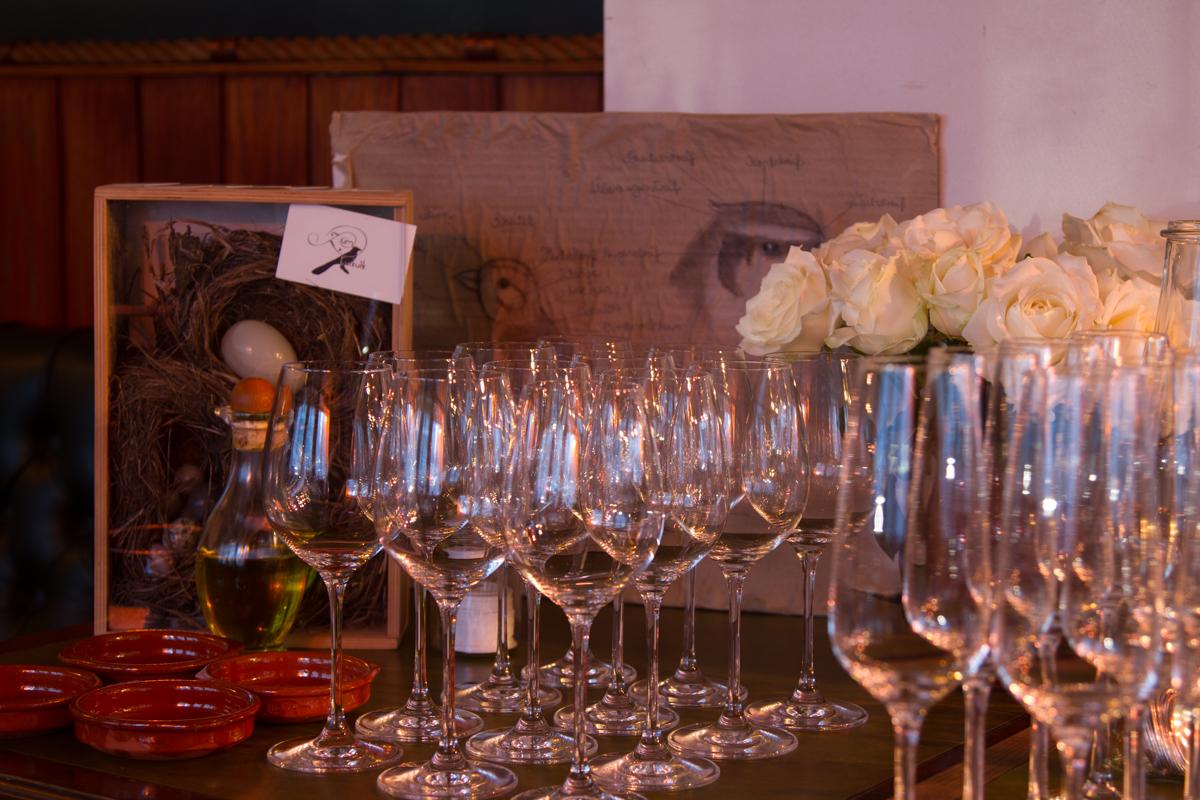 DinnerClub Zum Kuckuck: Vorbereiteter Service-Tisch