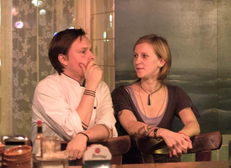 """Team des Dinnerclub """"Zum Kuckuck"""" in der Korallbar"""