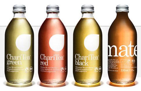 ChariTea, frisch aufgebrühter Bio-Eistee aus fairem Handel