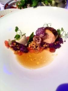 Kirill Kinfelt: Guinea fowl - calamaretti - potatoes & tomatos