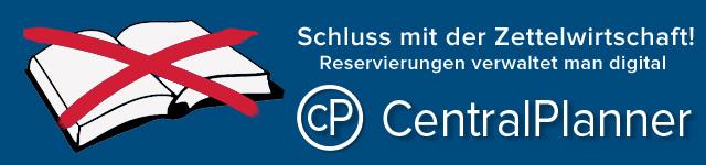 Online Reservierungssystem CentralPlanner