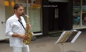 Weißes Dinner Neugrabener Marktpassage: Musikalische Umrahmung