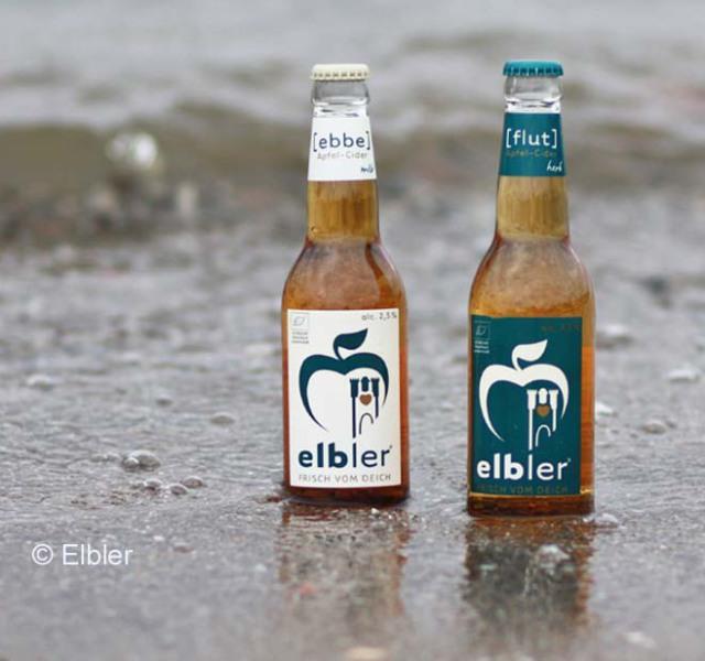 Ebbe und Flut, die Bio-Cider Sorten von Elbler