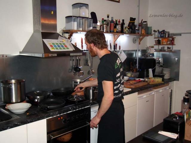 """Die kleine Küche vom Bistro """"Der Smutje"""""""