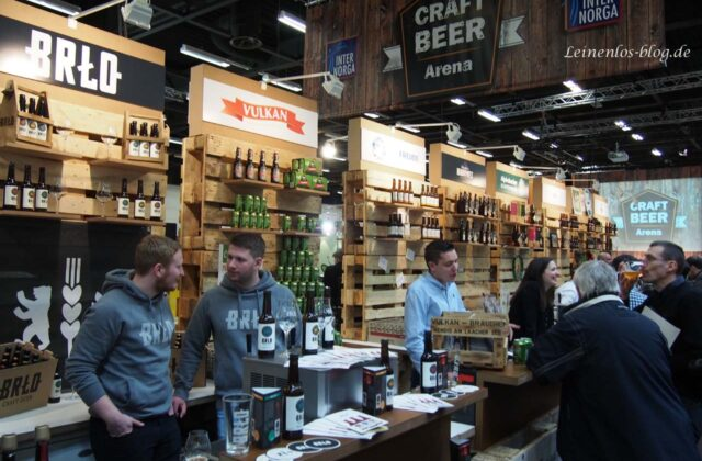 Craft Beer Arena auf der Internorga 2015