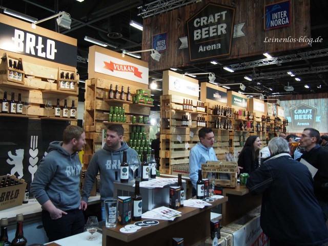 Craft Beer Arena auf der Internorga 2015