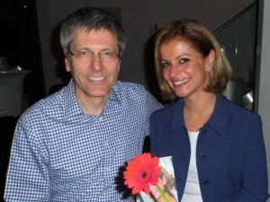 Jacqueline Bakir Brader und Manfred Troike