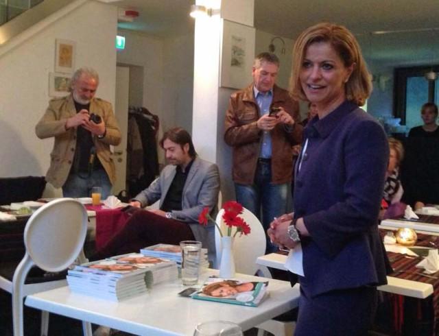 Jacqueline Bakir Brader in Nissis Kunstkantine