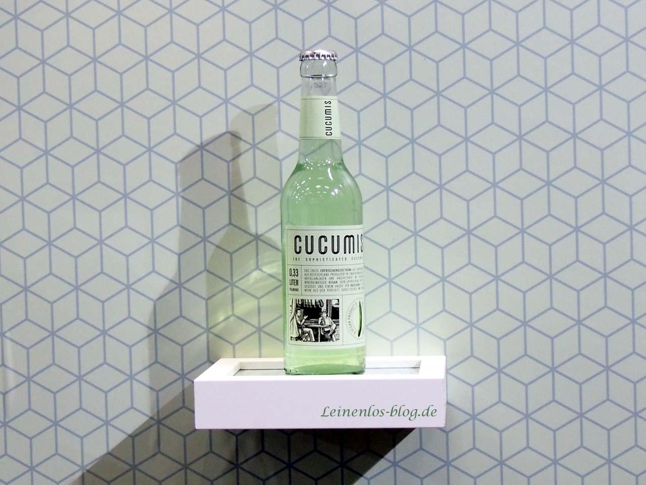 Getränke-Innovation aus Hamburg: Cucumis - Limonade auf Gurkenbasis