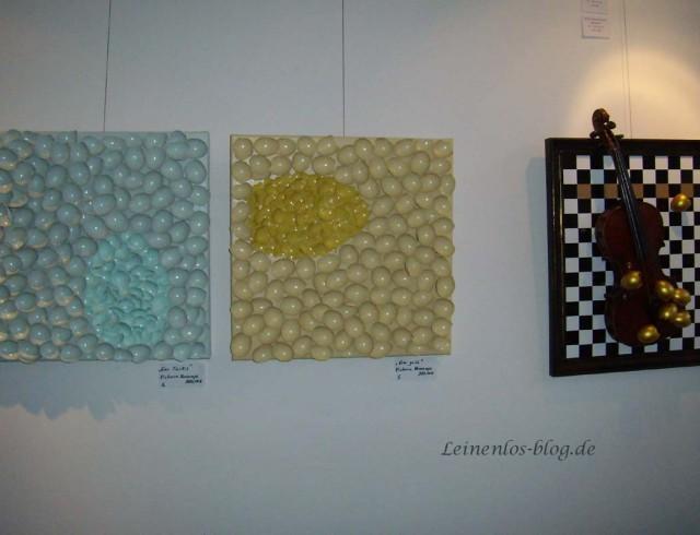 Kunstwerke von Victoria Voncampe und Rüdiger Knott