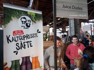 Juice Dudes Gründer auf der Eat & Style