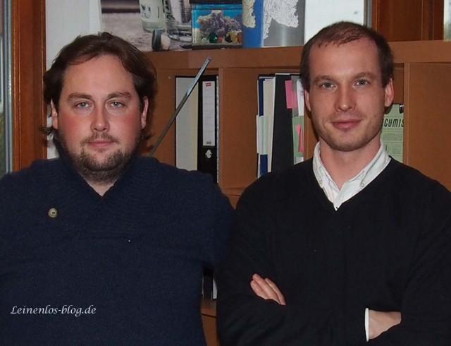 Cucumis Gründer-Duo Till Fischer-Bergst und Vasco Kulke