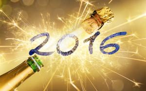 Silvester 2016 mit Sekt