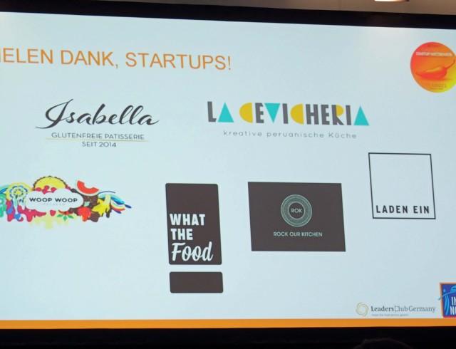 Konzepte des Finales zum Gastro Startup-Wettbewerb 2016