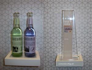 Cucumis gewinnt Internorga-Zukunftspreis