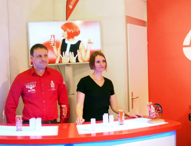 "Energy Drink ""Frisches Blut"" - Internorga Stand"