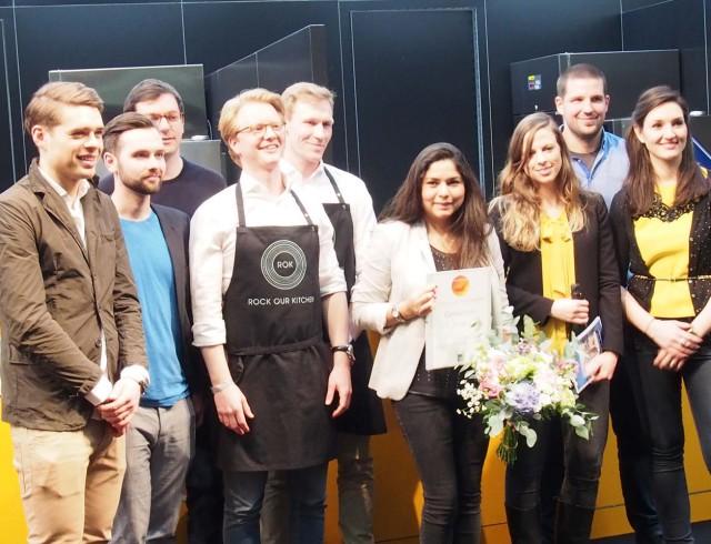 Finalisten des Gastro Startup-Wettbewerbs 2016