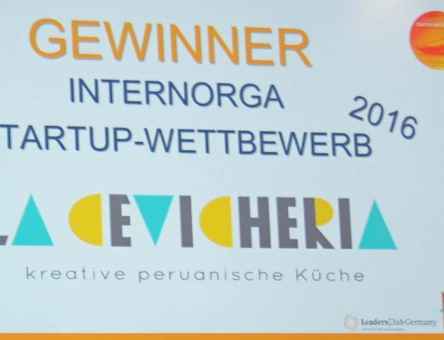 Chevicheria - Gewinner des Gastro Startup-Wettbewerbs 2016