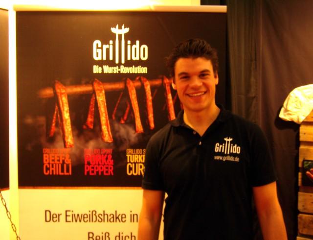 """Grillido-Gründer: Überzeugt von der """"Sportler-Bratwurst"""""""
