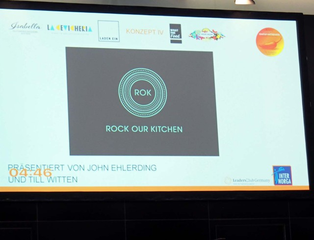 Konzept Rock our Kitchen