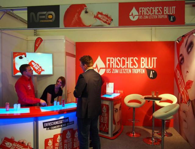 """""""Frisches Blut"""" - Internorga Stand"""