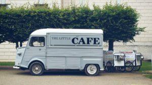 Cafe auf Rädern