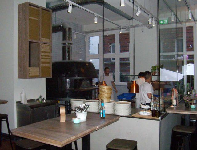 Jill Pizza - Offene Küche