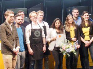 Finalgruppe Gastro-Startup Wettbewerb 2016