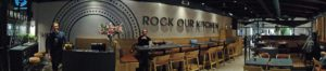 Rock our Kitchen: Restaurant-Panorama