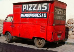 Lieferdienst, Pizza-Service