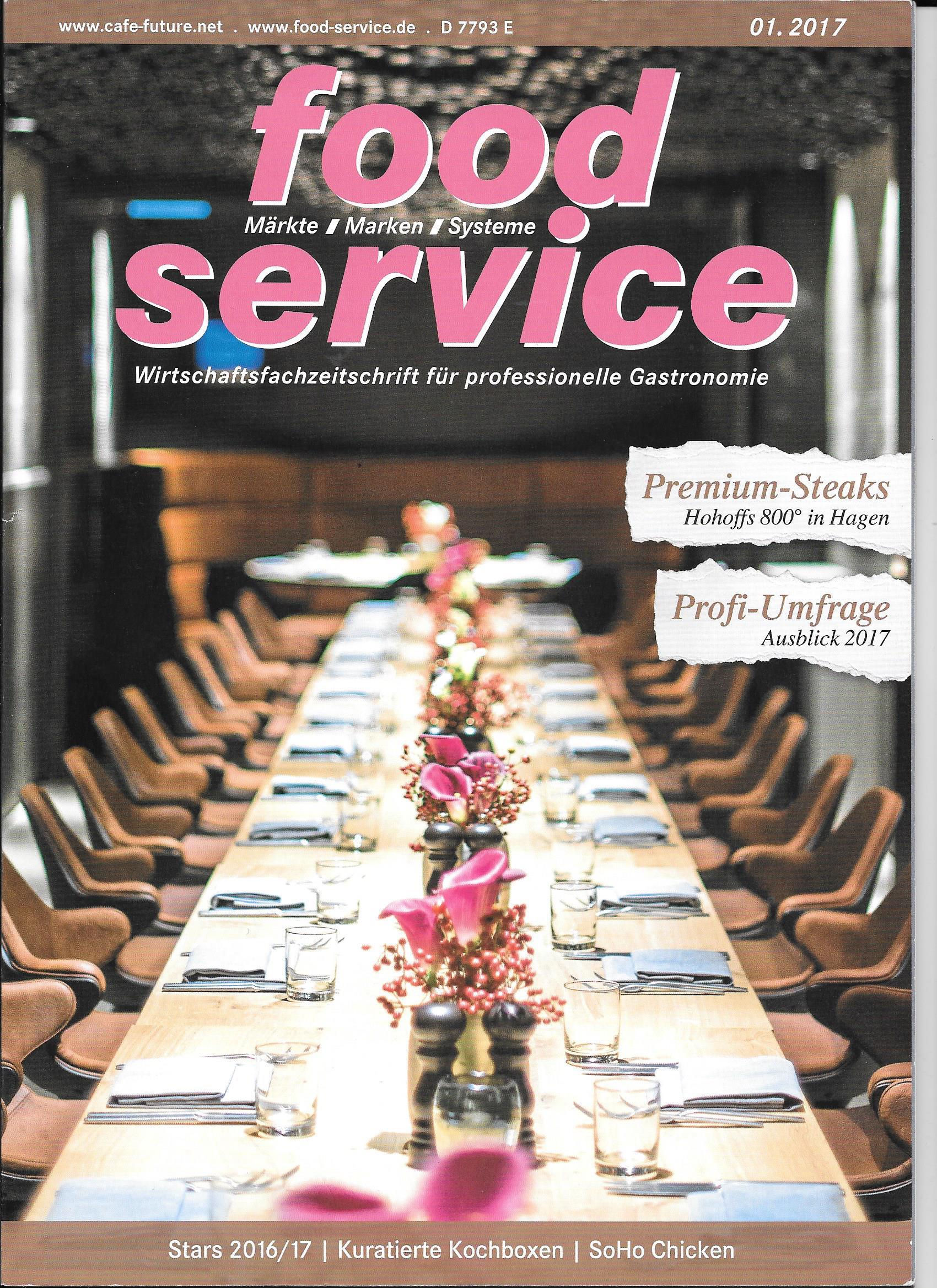 Foodservice Ausgabe 01.2017