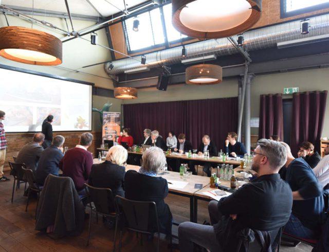 Pitch vor der Gastro Startup Jury, Foto: Michael Zapf