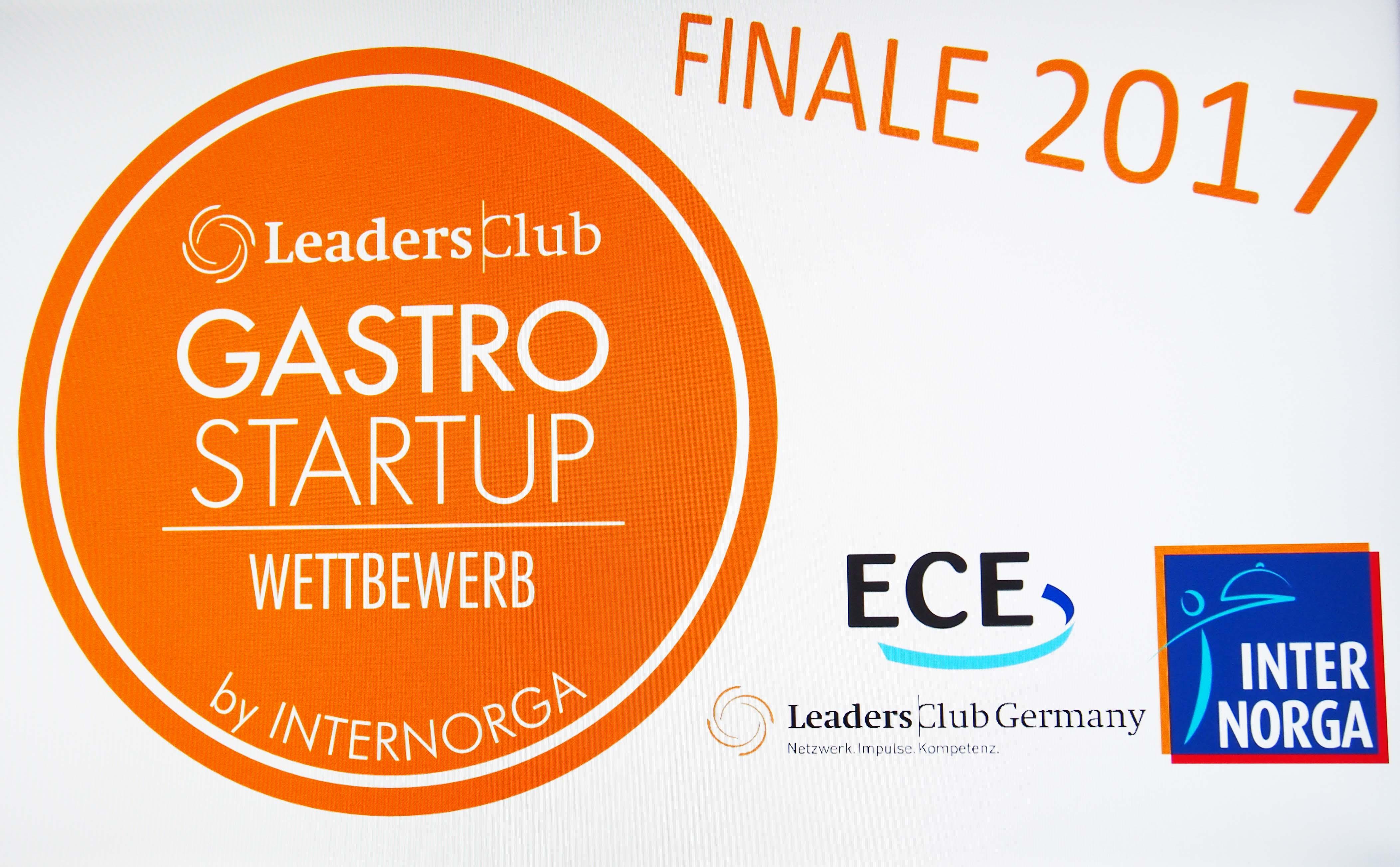 Gastro Startup Wettbewerb Finale 2017