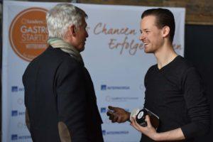 Brox Gründer Konrad Knops beim GastroStartup Wettbewerb