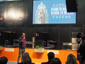 Miguel Zaldivar präsentiert Mexiko Strasse Hamburg