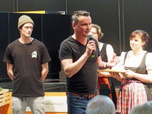 Kilian Stückler und Uli Brandl von s'Handwerk