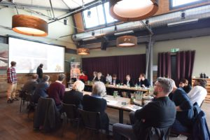 Uli Brandl & Kilian Stückler beimVorentscheid zum Gastro Startup Wettbewerb