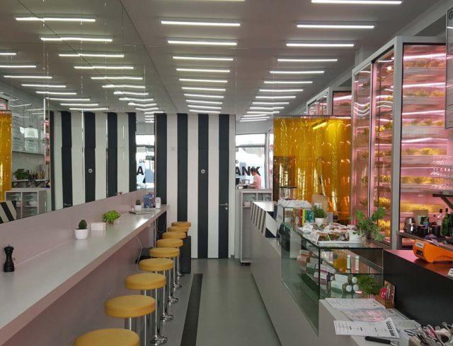 Good Bank Salatbar Berlin Innenraum