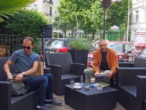 Schluck&Happen: Terrasse