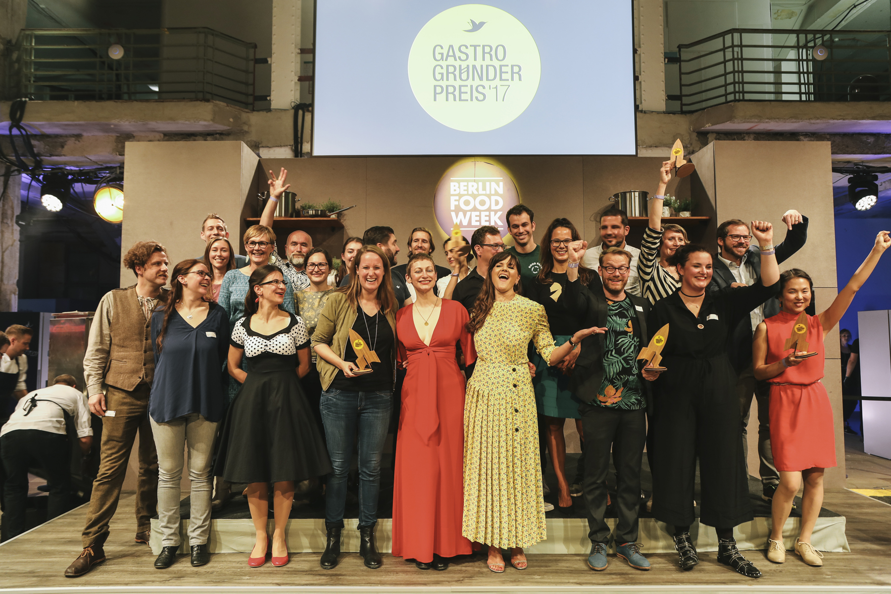 Preisverleihung Gastro-Gründerpreis 2017