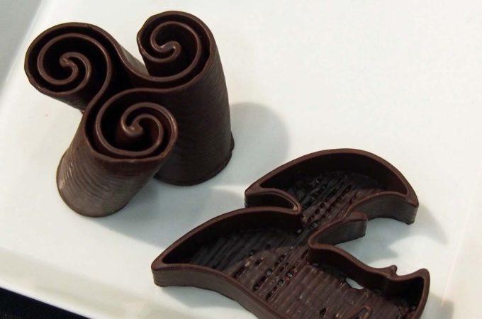 Schokoladenformen aus dem 3D-Drucker